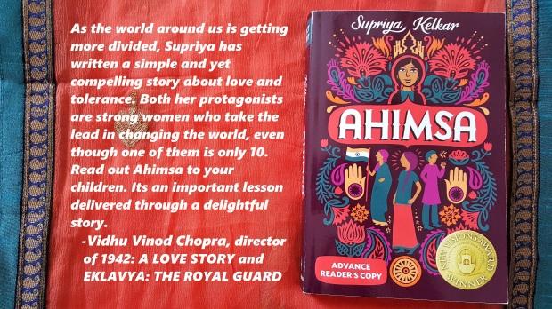 Ahimsa Vinod's Blurb