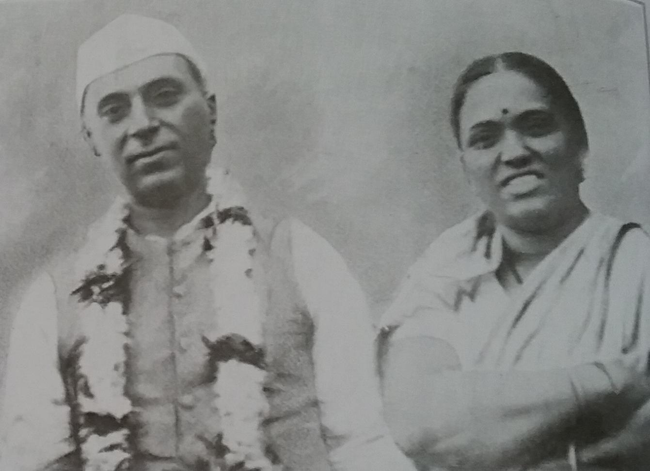 Anasuyabai and Nehru