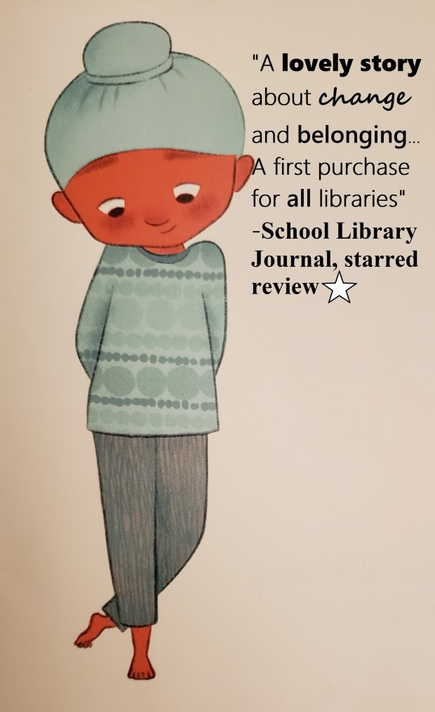School Library Journal Starred Review Quote The Many Colors of Harpreet Singh cropped