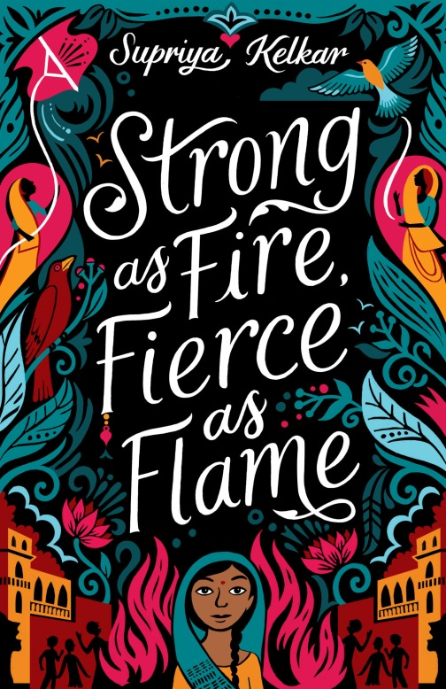 strong as fire fierce as flame cover high rez