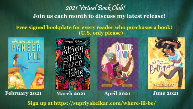 2021 Virtual Book Club